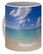 Perfect Beach Day With Blue Skies Coffee Mug by Mike Theiss