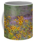 Perky Golden Coreopsis Wildflowers Coffee Mug