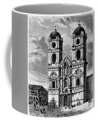 Peru: Jesuit Church, 1869 Coffee Mug