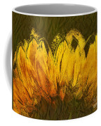 Petales De Soleil - A43t02b Coffee Mug by Variance Collections