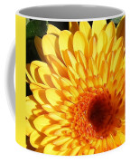 Petals Of Yellow Coffee Mug
