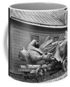 Peter The Great, Resting On A Wagon Coffee Mug by Maynard Owen Williams