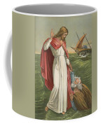 Peter Walking On The Sea Coffee Mug