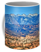 Petrified Dunes And La Sal Mountains Coffee Mug