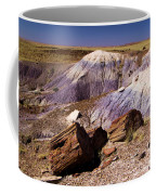 Petrified Logs In The Badlands Coffee Mug