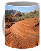 Petrified Sand Dunes - Snow Canyon Utah  Coffee Mug