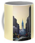 Philadelphia Cityhall At Dawn Coffee Mug