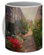Philadelphia Courtyard - Symphony Of Springtime Gardens Coffee Mug by Mother Nature