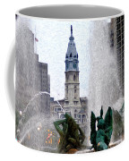 Philadelphia Fountain Coffee Mug