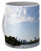 Philadelphia From Kelly Drive Coffee Mug