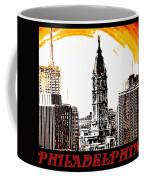Philadelphia Poster Coffee Mug