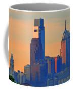 Philadelphia Sunrise Coffee Mug by Bill Cannon