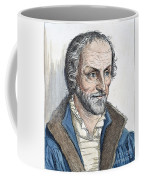 Philipp Melanchthon (1497-1560). German Scholar And Religious Reformer: Line Engraving, German, 19th Century Coffee Mug