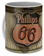 Phillips 66 Vintage Sign Coffee Mug