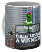 Philly Loves A Winner Coffee Mug by Alice Gipson