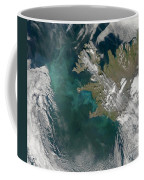 Phytoplankton Bloom In The North Coffee Mug by Stocktrek Images