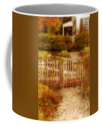 Picket Fence And Cottage Coffee Mug