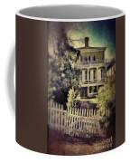 Picket Gate To Large House Coffee Mug