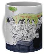 Picnic In The Mountains Coffee Mug