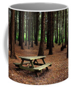 Picnic Table Coffee Mug by Carlos Caetano
