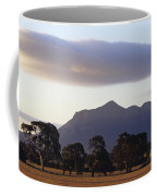 Picturesque Mountain Ranges Loom Coffee Mug