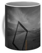 Picturing The Road Ahead Coffee Mug by Empty Wall