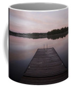 Pier, Lake Of The Woods, Ontario, Canada Coffee Mug