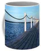 Pier To The Ocean Coffee Mug