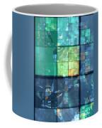 Piercing Geo Green Coffee Mug