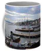 Piers Of Oslo Harbor Coffee Mug