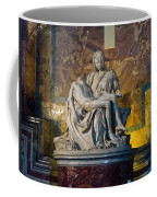 Pieta By Michelangelo Circa 1499 Ad Coffee Mug