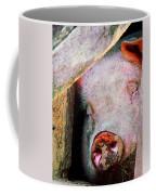 Pig Sleeping Coffee Mug