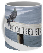 Pigeons Cannot Read Coffee Mug