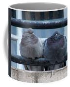 Pigeons Perching Coffee Mug