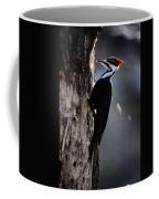 Pileated Woodpecker Dryocopus Pileatus Coffee Mug
