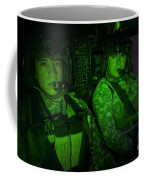Pilots In The Cockpit Of An Oh-58d Coffee Mug