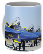 Pilots Of The Blue Angels Flight Coffee Mug