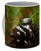 Pine Cone And Wedding Band Coffee Mug