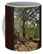 Pine Tree And Rocks Coffee Mug