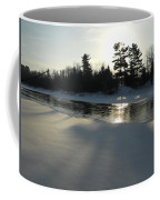 Pine Trees Casting Shadows Coffee Mug