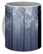 Pine Trees In Cloud In The Forest Corona Coffee Mug