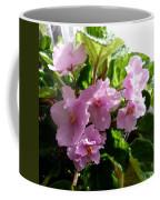 Pink African Violets Coffee Mug