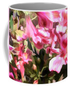 Pink Alstroemeria  Coffee Mug