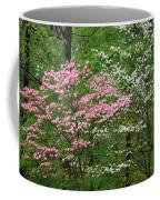 Pink And White Coffee Mug