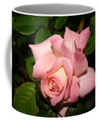 Pink And White Rose Coffee Mug