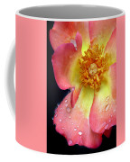 Pink And Yellow Rose Coffee Mug
