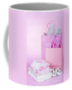 Pink Baby Shower Presents Coffee Mug