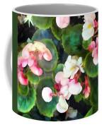 Pink Begonias Coffee Mug