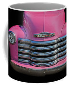 Pink Chevrolet Truck Coffee Mug