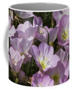 Pink Evening Primrose Wildflowers Coffee Mug